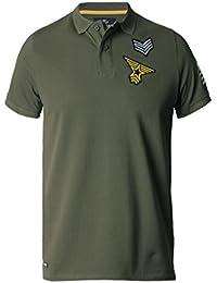 Hommes Threadbare chemise polo designer armée manche courte Été THORNTON MMW119