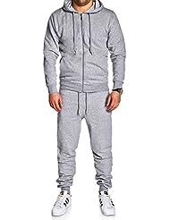 MT Styles ensemble survêtement pantalon de sport+sweat-Shirt MA-2102
