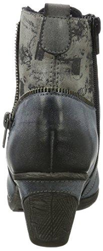 Remonte Damen D8782 Chukka Boots Mehrfarbig (Asphalt/Whitelake/Cigar/Schwarz/Ozean)