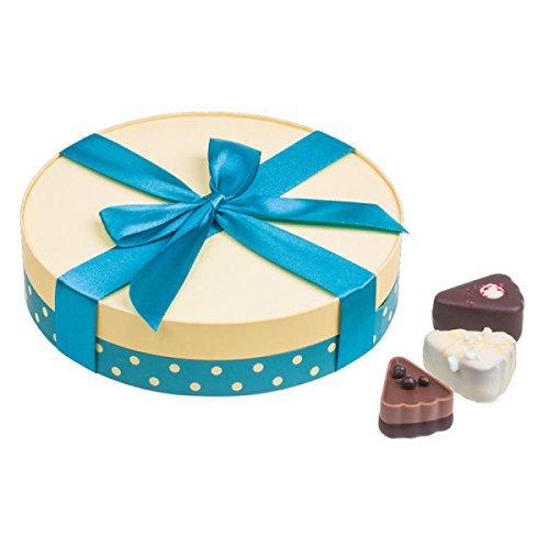 Pralinen in Kuchenstück-Form | Premium Qualität | Geschenkidee | Geschenk | Geburtstag | Dankeschön | Hochzeitsgeschenk | Muttertag | Vatertag | Mitbringsel Erwachsene ()