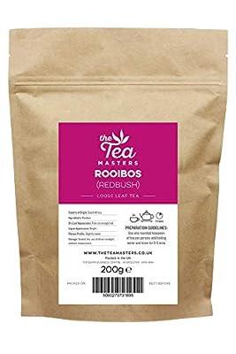 Feuilles de rooibos (thé rouge) en vrac Tea Masters 200g