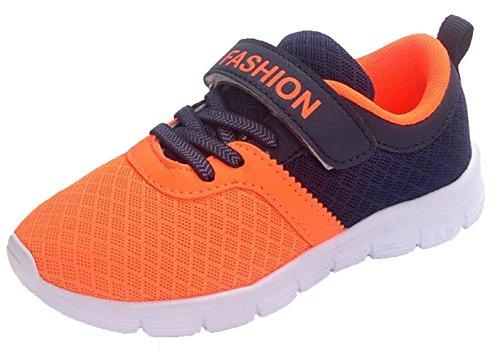 WUIWUIYU Chaussures de Course Mesh Respirant Sneakers pour Garçons Filles
