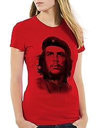 style el Che T-Shirt Femme Cuba guevara révolution