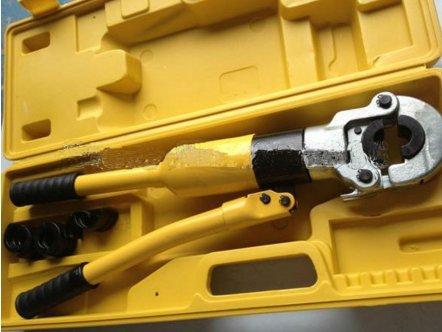 mabelstar Hydraulische PEX Fitting Werkzeug ft-1632th für PEX, PB Rohr Kupfer AL Anschluss Bereich 16–32mm mit stirbt TH oder U Typ