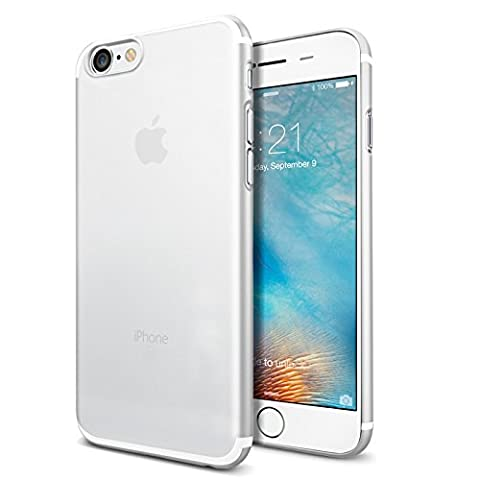 Coque iPhone 7 Silicone, SAVFY Ultra-Fin Housse Protection Gel en TPU Silicone Transparente pour iPhone 7