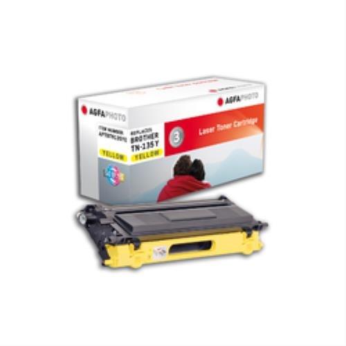 Preisvergleich Produktbild AgfaPhoto APTBTN135YE Toner für Brother DCP9040CN, 4000 Seiten, gelb