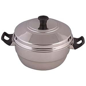 Klassic Vimal Multi Kadai Idly Pot -15 Idlies & Steamer Plate & 5 Small Idli Cups