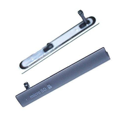Patta porta USB di ricarica copertura antipolvere Plug per Sony Xperia Z3Compact Micro SD Card micro scheda SIM Port copertura tappo D5803, D5833