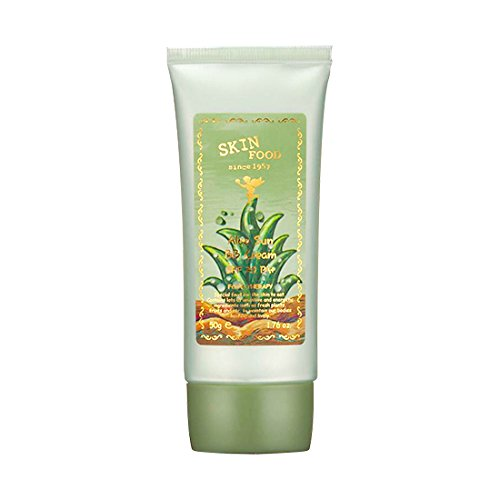 (6 Pack) SKINFOOD Aloe Sunscreen BB Cream SPF20 PA+ (UV Protection) #2 Natural Skin