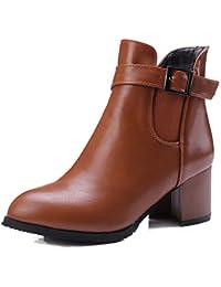 Wolky4432 Murray - Botas con cordones mujer , color marrón, talla 41 EU