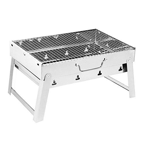 JPVGIA Barbecue Grill Portable Barbacoa Plegable Al Aire Libre Parrilla Portátil de...