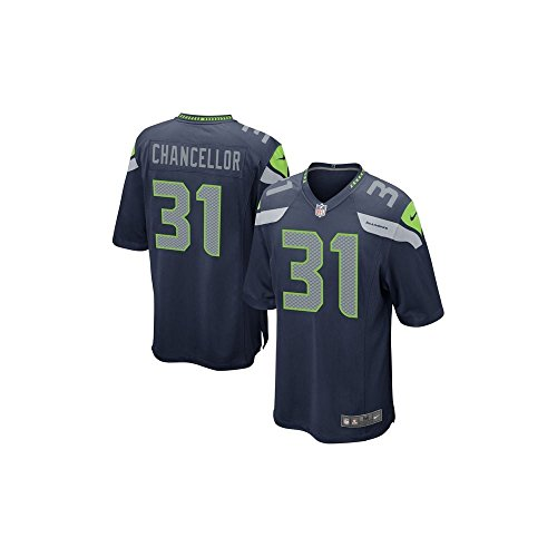 Nike NFL Seattle Seahawks Home Game Jersey - Kam Chancellor Large