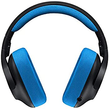 06d54ae8da9 Logitech G233 Gaming Headset with Mic (Black and Blue) for PC and Console