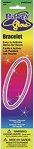 Unique Party Pulsera Fluorescente, Color Rosa, 20 cm (5502)