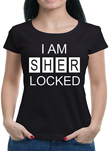 TLM I am Sherlocked T-Shirt Damen M (Die Kostüm Ermittler)