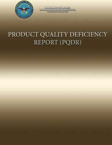 Product Quality Deficiency Report por US Marine Corps