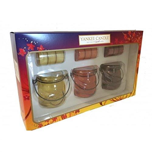 Yankee Candle 1521556 Jam Jar Laternen Set, Glas, Mehrfarbig, 20 x 5,3 x 20 cm
