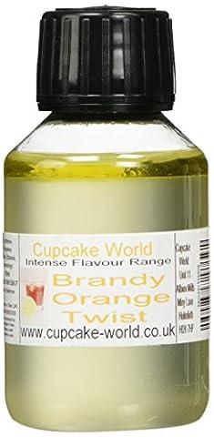 Cupcake World Brandy and Orange Twist Intense Food Flavouring 100 ml