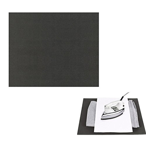 Preisvergleich Produktbild RUSPEPA 30,48x38,1cm Silikon Pad, flache Transferpresse Ersatz (schwarz)