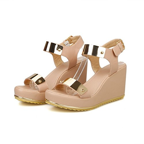 Adee Femme metalornament open-toe en Sandales Rose - rose