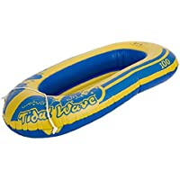 """Childs 45"""" Rubber Boat Dinghy Inflatable Pool Beach Toy"""