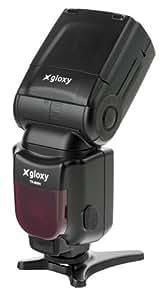 Gloxy TR-985 N Noir flash - flashs (Noir, 3 s, Nikon, 54 m, verticale, Esclave)