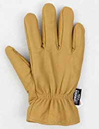 Dickies Lined Warm Leather Work Gloves Tan M, L, XL Mens