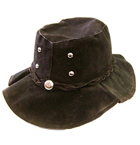 modestone-floppy-suede-4-silver-metal-studs-metal-stud-hatband-hippie-hat-m