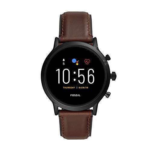 Fossil Smartwatch Gen.5 para Hombre con Altavoz, Ritmo Cardíaco, GPS, NFC e Notificaciones