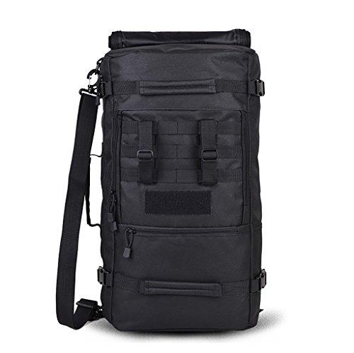 sac à dos randonnée Camping en plein air 45L / 60L sac de randonnée hommes et femmes Voyage sac à dos sac d'alpinisme de grande capacité (taille: 30 * 20 * 57cm, 30 * 22 * 66cm) Sacs à dos de randonnée