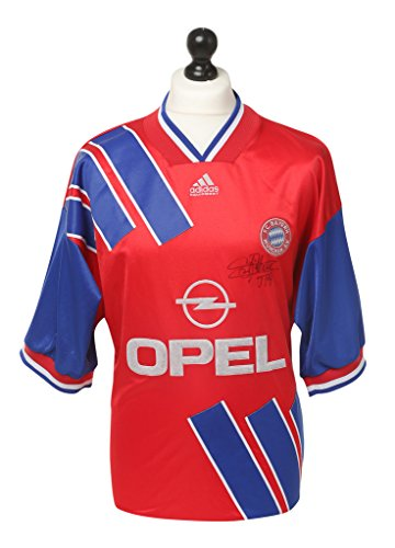 Jean-Pierre-Papin-Signed-Bayern-Munich-Shirt-Autograph-Jersey-Memorabilia-COA