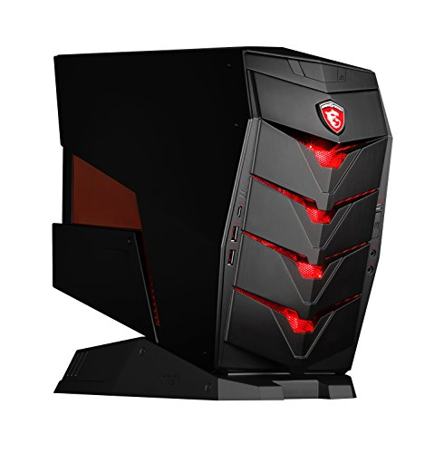 MSI Aegis-024DE Mini-Gaming PC schwarz Intel Corei7-6700 8 GB DDR4 128GB M.2 SSD+1TB HDD Win10Home