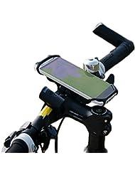 Soporte de manillar para el teléfono móvil (Phix) de silicona de BTR – SE ADAPTA A TODOS LOS MÓVILES Y BICICLETAS