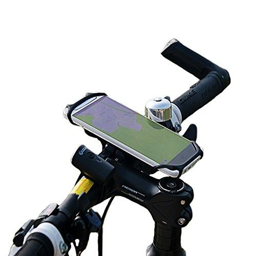 BTR Silikon Handy-Halterung für den Fahrrad-Lenker – BEFESTIGUNG FÜR ALLE SMARTPHONES & FAHRRÄDER