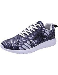buy popular 982b2 b2191 LuckyGirls Unisex Hommes Chaussures de Course Running Fitness Sports Shoes  Dames Summer Comfort Mesh…