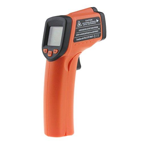 AN320A - Termómetro digital con pantalla LCD sin contacto, medidor de temperatura infrarroja