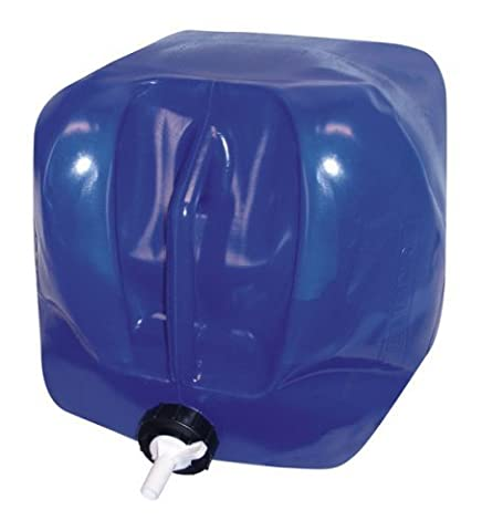 Reliance Products Five Gallon Fold-A-Carrier II Blue Collapsible Water Carrier with Integrated Handle by RELIANCE CONTROLS