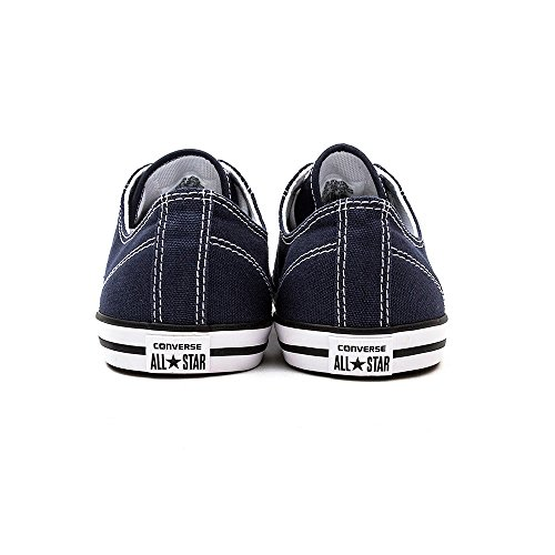 Converse Ctas Season Ox, Unisex-Kinder Sneakers Blau (Navy)