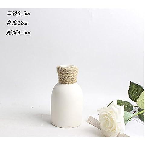 Decorazione vaso in ceramica Mini Ornamenti artigianato Contenitori per fiori casa ufficio A