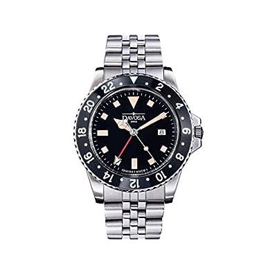 Davosa Black Bezel Vintage Diver Watch