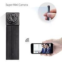 Mini kamera ,FREDI HD 1080P Tragbare Wlan Netzwerk Klein IP Kamera mini Kamera P2P Drathlos mit Bewegungsmelder /Mikrofon/Videoaufzeichnung Überwachungskamera mit akku