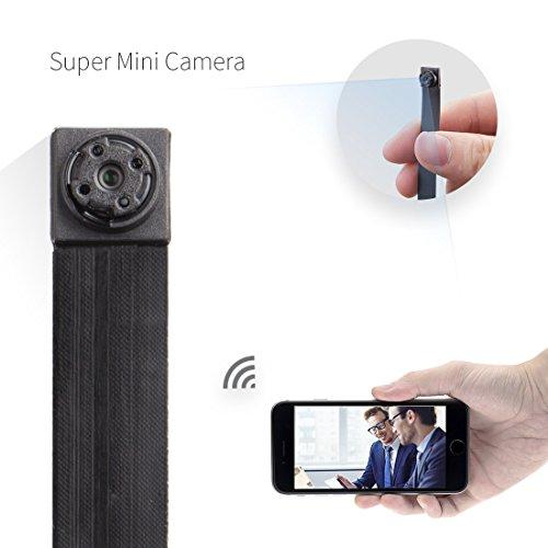 Mini kamera ,FREDI HD 1080P Tragbare Wlan Netzwerk Klein IP Kamera mini Kamera P2P Drathlos mit Bewegungsmelder /Mikrofon/Videoaufzeichnung Überwachungskamera mit akku Wireless-sicherheit Kamera 1080