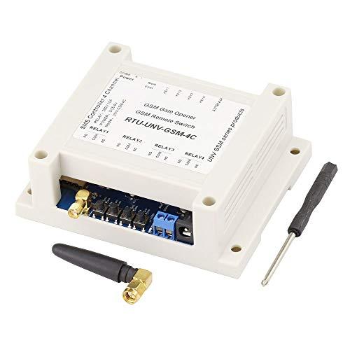 Aihasd 4 Canales Módulo de relé SMS Controlador de Llamadas gsm Interruptor de Control Remoto gsm Abridor de Puerta SIM800C 5 12V