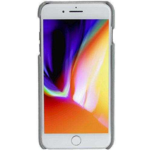 "Krusell® iPhone 7 Plus iPhone 8 Plus Hülle , Leder ""Sunne 2 Card Cover"" Handyhülle Schutzhülle Handyschale passgenau mit Kreditkartenetui (vintage schwarz) Vintage grau"
