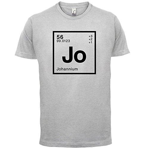 Johann Periodensystem - Herren T-Shirt - 13 Farben Hellgrau