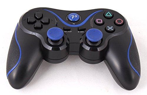 P3Bluetooth 6-Axis Wireless Game Controller Gamepad Joypad Dualshock mit Ladekabel für Sony Playstation 3 (Drei Sechs Null)