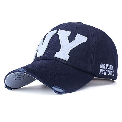 zhuzhuwen Europäische Version von Baumwolle gewaschen Baseballmützen Hut lässig Sommer Sonnenhut 1 56-62cm (Ihr Basteln Schlafzimmer Für Halloween)