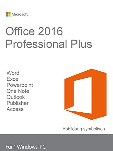 Microsoft Office Professional Plus 2016 - Lizenz - 1 PC - Reg. - MOLP: Government - Win
