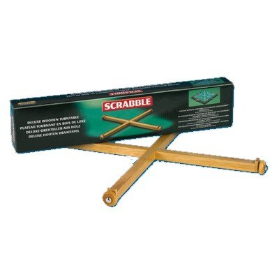 Tinderbox Games 110883 Scrabble Turntable