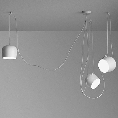 Ceiling Light Moderne Mehrere Verstellbar DIY Kronleuchter Basteln Kreative  Spinne Trommel Licht Anhänger Höhenverstellbar Hängelampe Loft Multihead ...